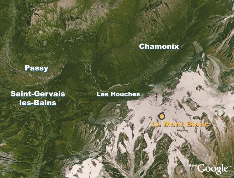 vallée de l arve carte TransAlp'Air : Mesures   Vallée de l Arve